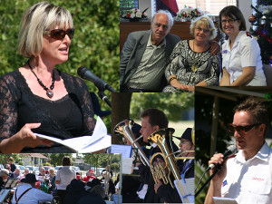 montage of pictures from the Hei Hei Community Carols 2014
